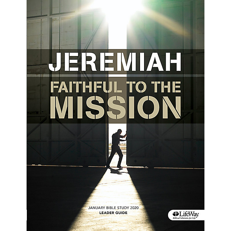 January Bible Study 2020: Jeremiah - Leader Guide