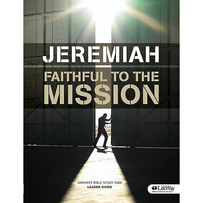 Winter Bible Study 2020.January Bible Study 2020 Jeremiah Leader Guide