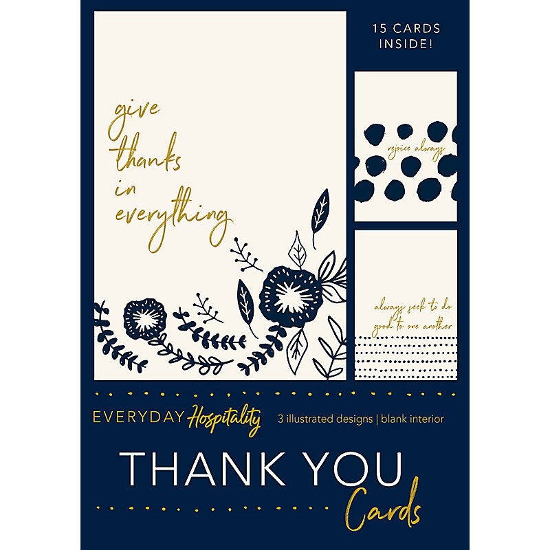 Thank You Cards, Everyday Hospitality