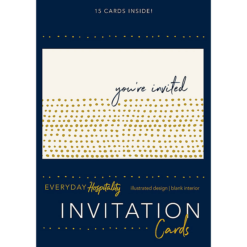 Invitations, Everyday Hospitality
