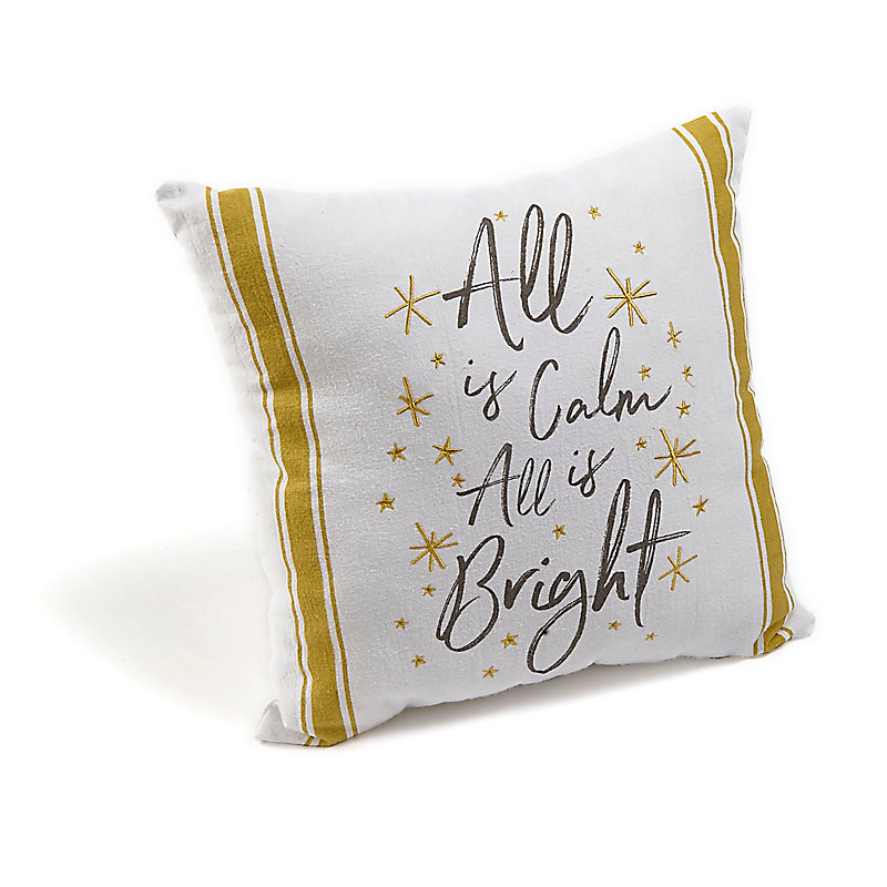 All Is Calm - Throw Pillow