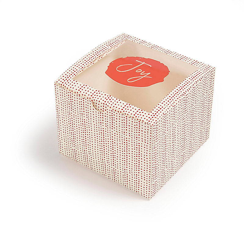 Joy - Treat Box with Window - Package of 3