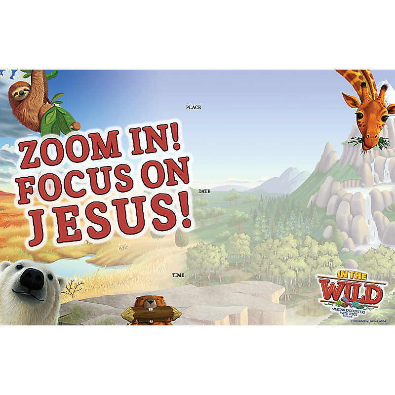 VBS 2019 Window Signs Pkg  5