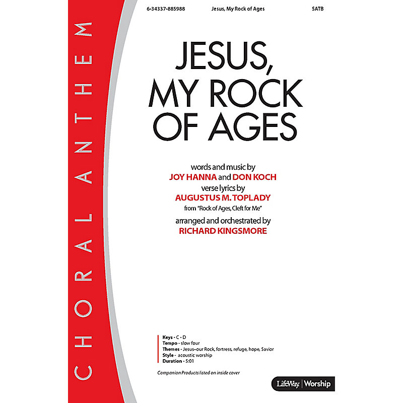Jesus, My Rock of Ages - Anthem