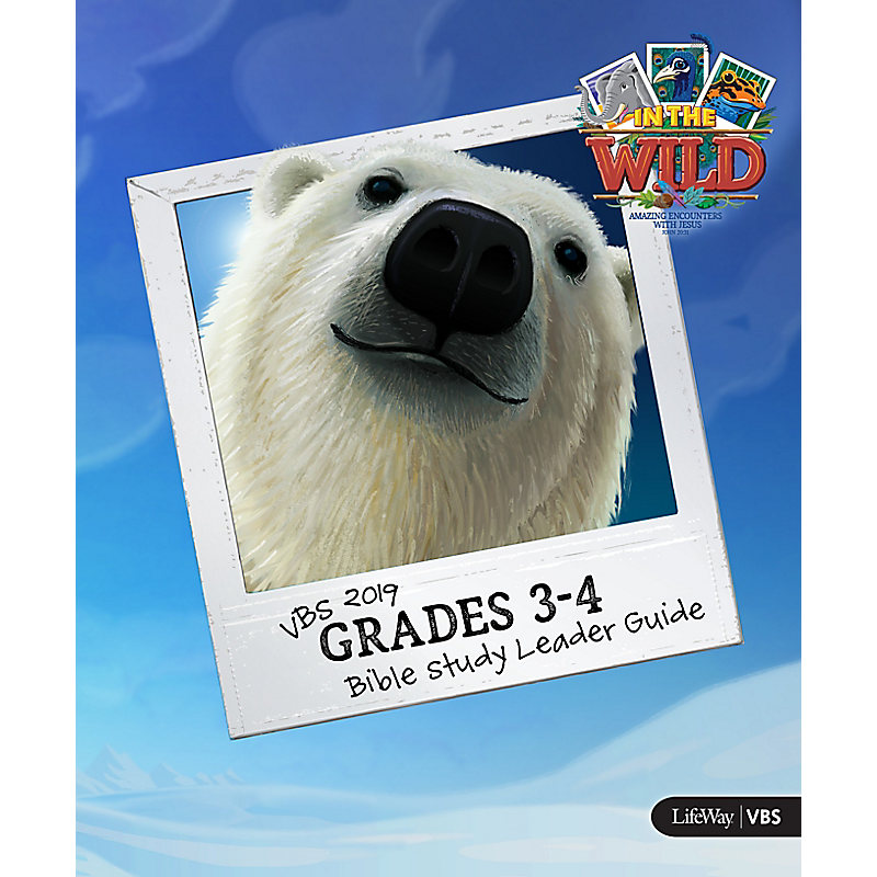VBS 2019 Grades 3-4 Bible Study Leader Guide Digital