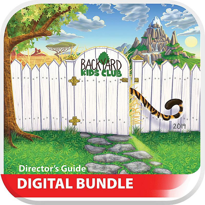 VBS 2019 Backyard Kids Club Directors Guide Digital