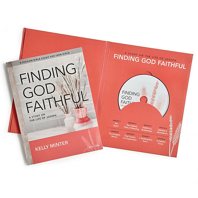 Finding God Faithful - Teen Girls' Bible Study Leader Kit