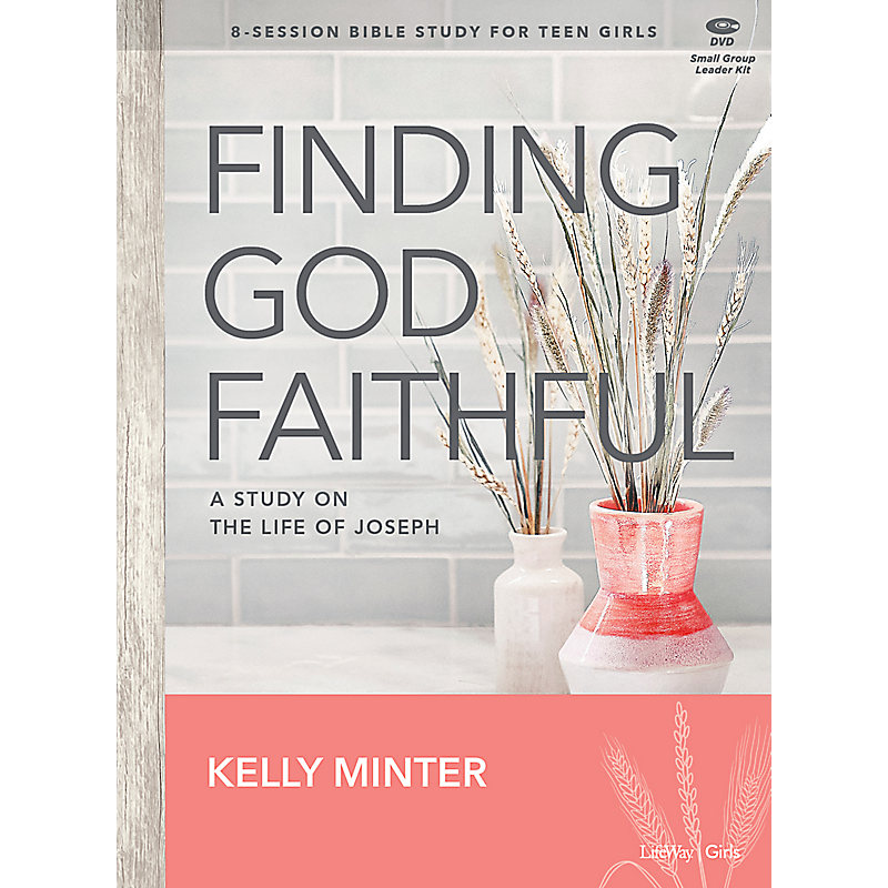 Finding God Faithful - Teen Girls' Bible Study Digital Leader Kit