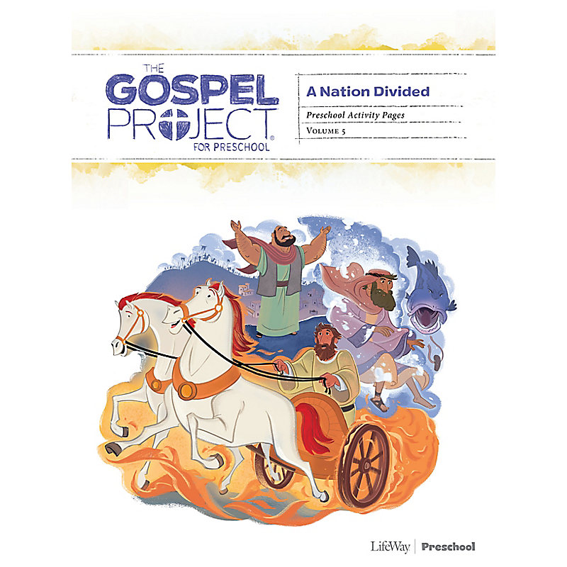 The Gospel Project for Preschool: Preschool Activity Pages - Volume 5: A Nation Divided