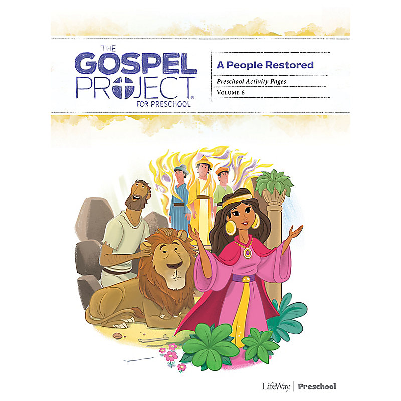 The Gospel Project for Preschool: Activity Pages - Volume 6: A People Restored