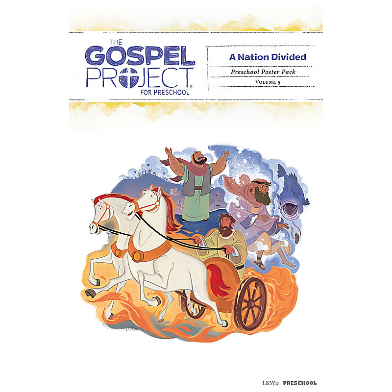 The Gospel Project for Preschool: Preschool Poster Pack - Volume 5: A Nation Divided