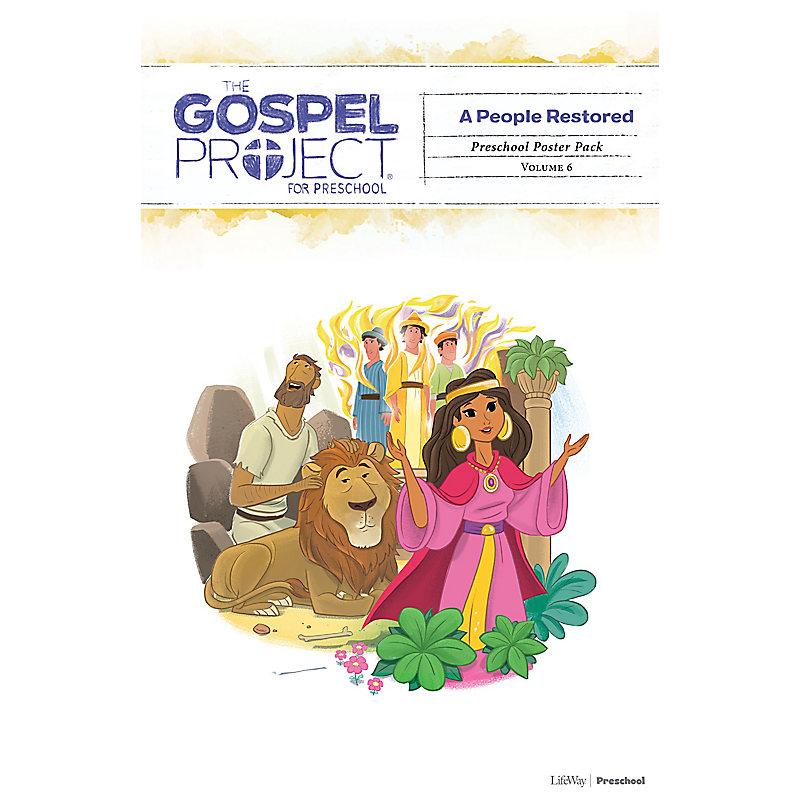 The Gospel Project for Preschool: Preschool Poster Pack - Volume 6: A People Restored