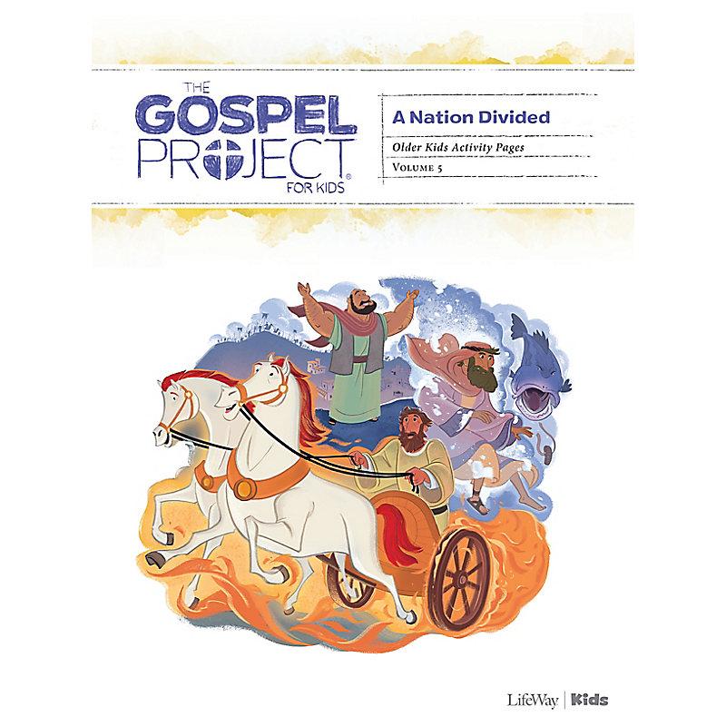 The Gospel Project for Kids: Older Kids Activity Pages - Volume 5: A Nation Divided