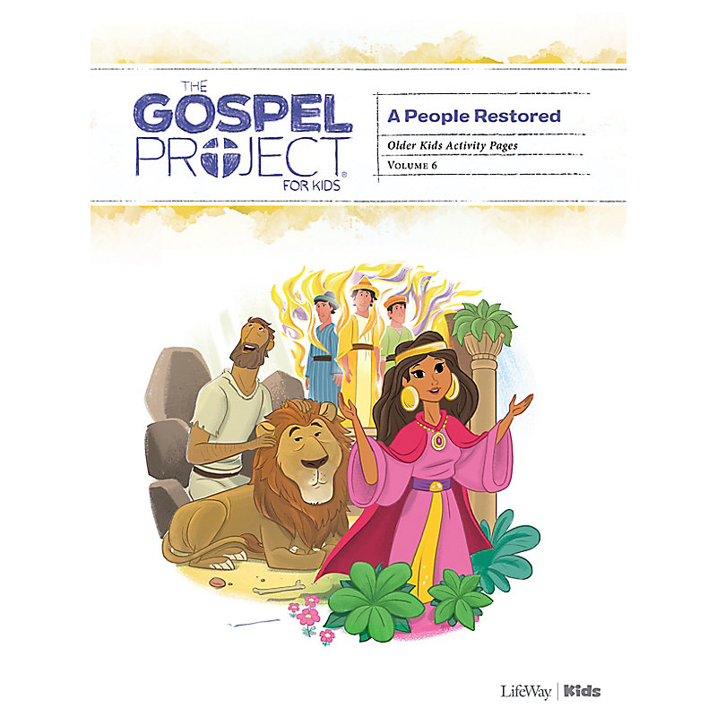 The Gospel Project for Kids: Older Kids Activity Pages - Volume 6: A People Restored