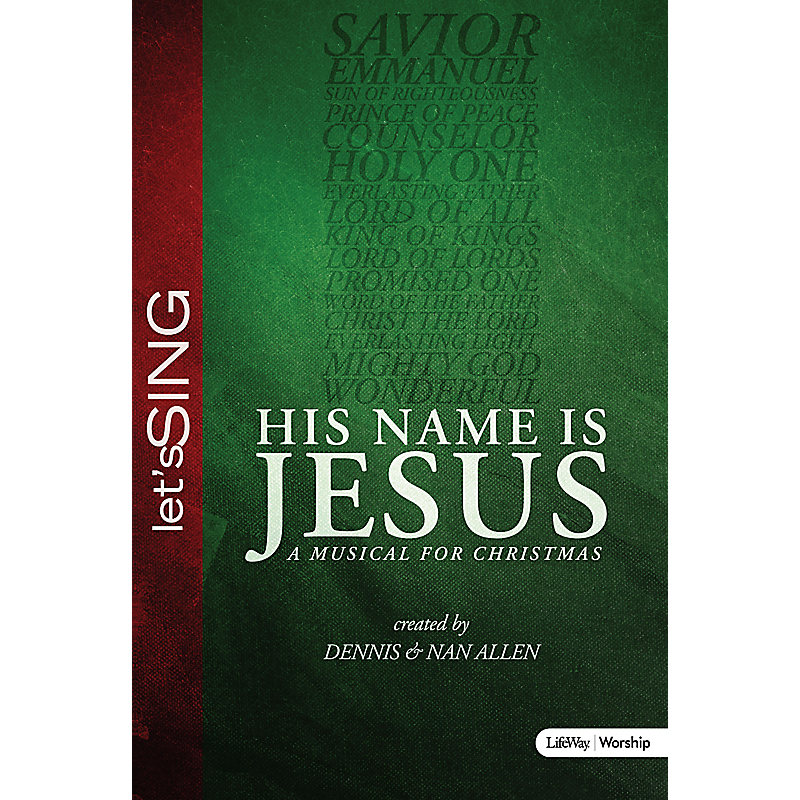 His Name Is Jesus - Choral Book