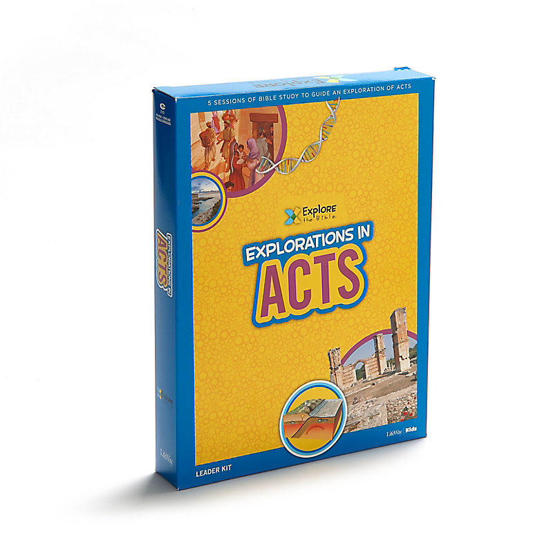 Explore the Bible Kids: Explorations in Acts