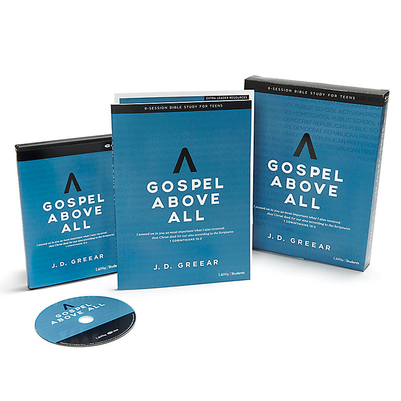 Gospel Above All - Teen Bible Study Leader Kit