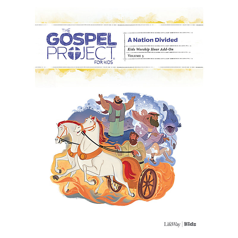 The Gospel Project for Kids: Kids Worship Hour Add-On - Volume 5 A Nation Divided
