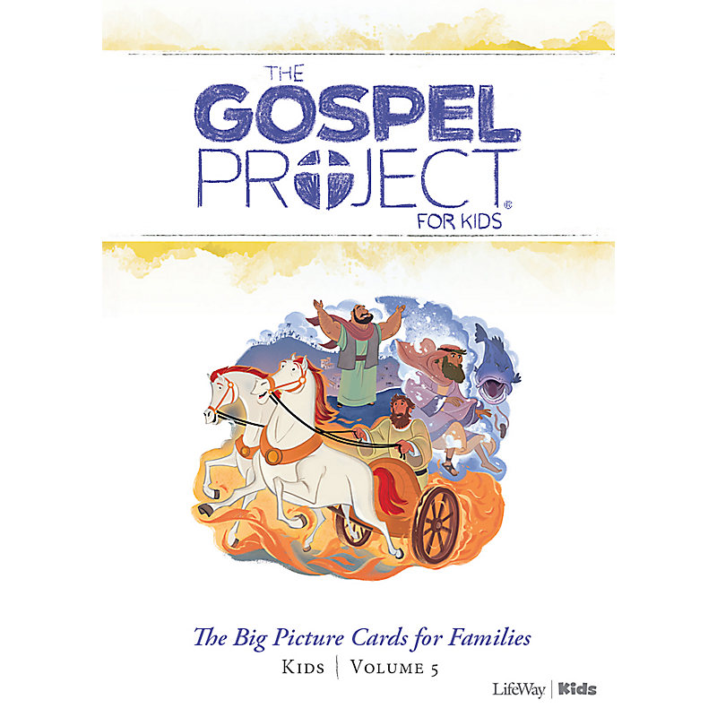 The Gospel Project for Kids: Big Picture Cards for Families Kids - Volume 5: A Nation Divided