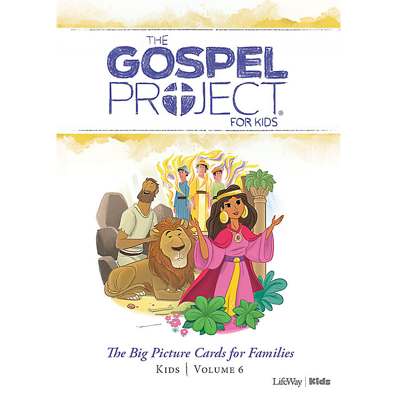 The Gospel Project for Kids: Kids Big Picture Cards for Families - Volume 6: A People Restored