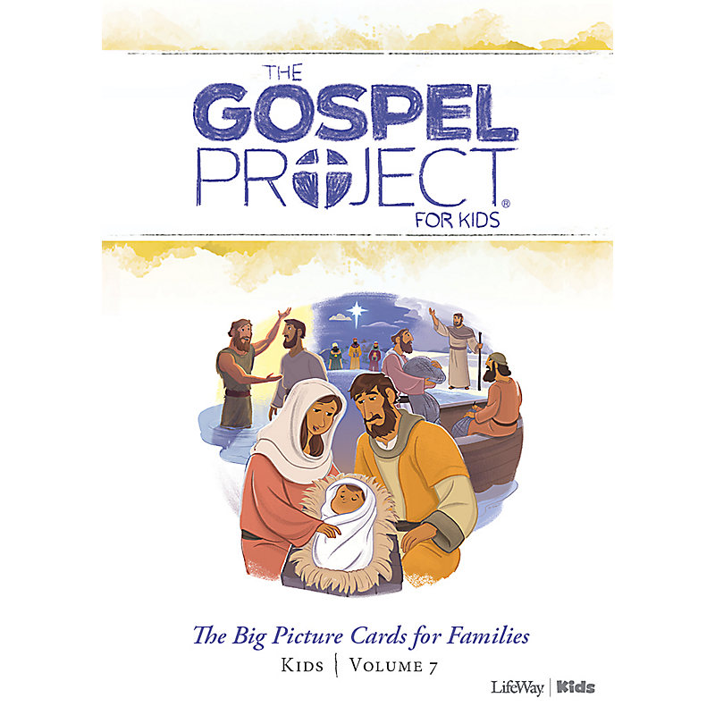 The Gospel Project for Kids: Kids Big Picture Cards for Families - Volume 7: Jesus the Messiah