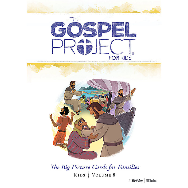 The Gospel Project for Kids: Kids Big Picture Cards for Families - Volume 8: Jesus the Servant