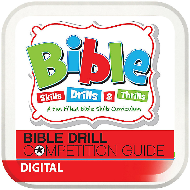 Bible Drill Competition Guide - Digital