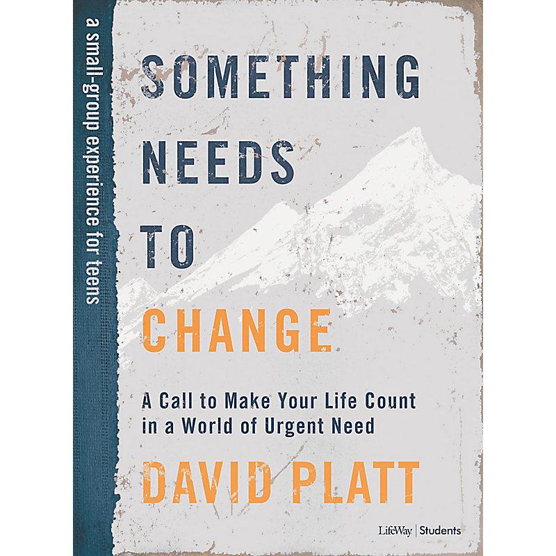 Something Needs to Change – Teen Bible Study eBook