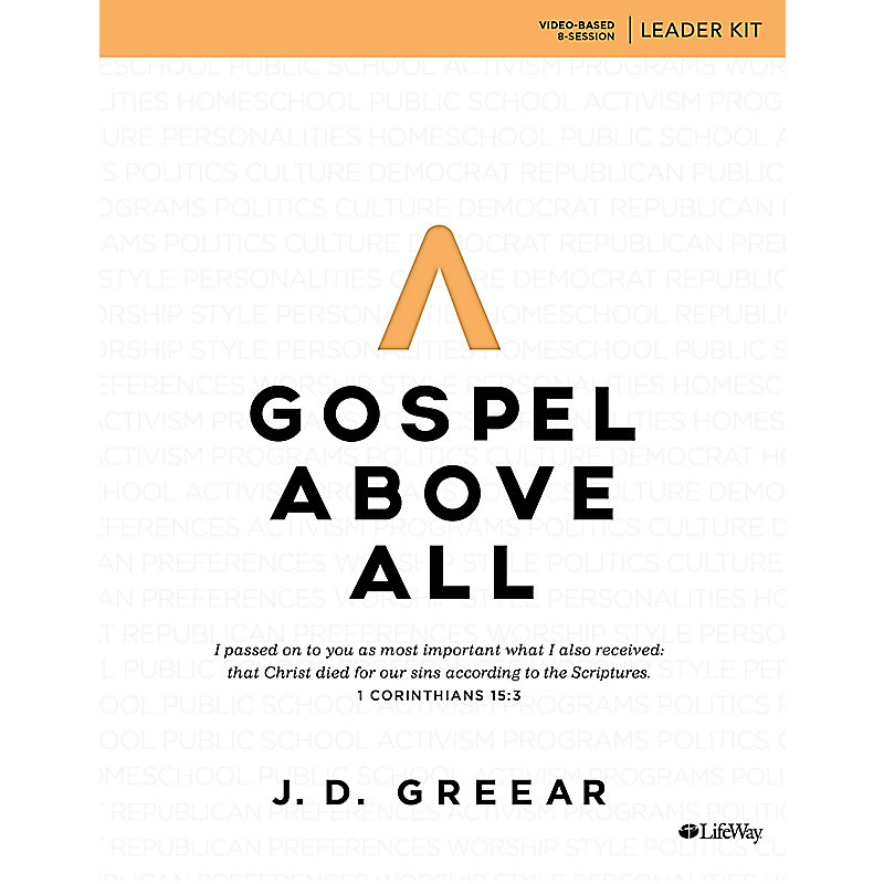 Gospel Above All - Leader Kit