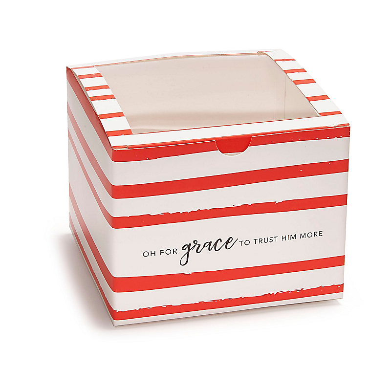 Oh For Grace Treat Box with Window (3pk)