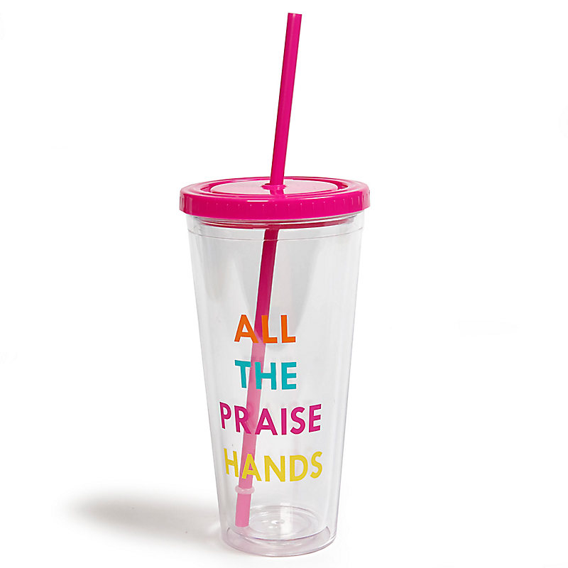 """All the Praise Hands"" Tumbler"
