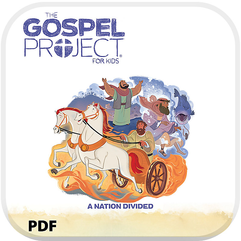 The Gospel Project for Kids: Younger Kids Leader Guide PDF - Volume 5: A Nation Divided