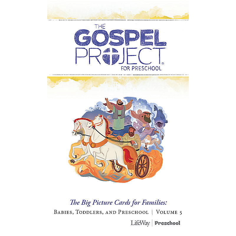 The Gospel Project for Preschool: Big Picture Cards for Families Preschool - Volume 5: A Nation Divided