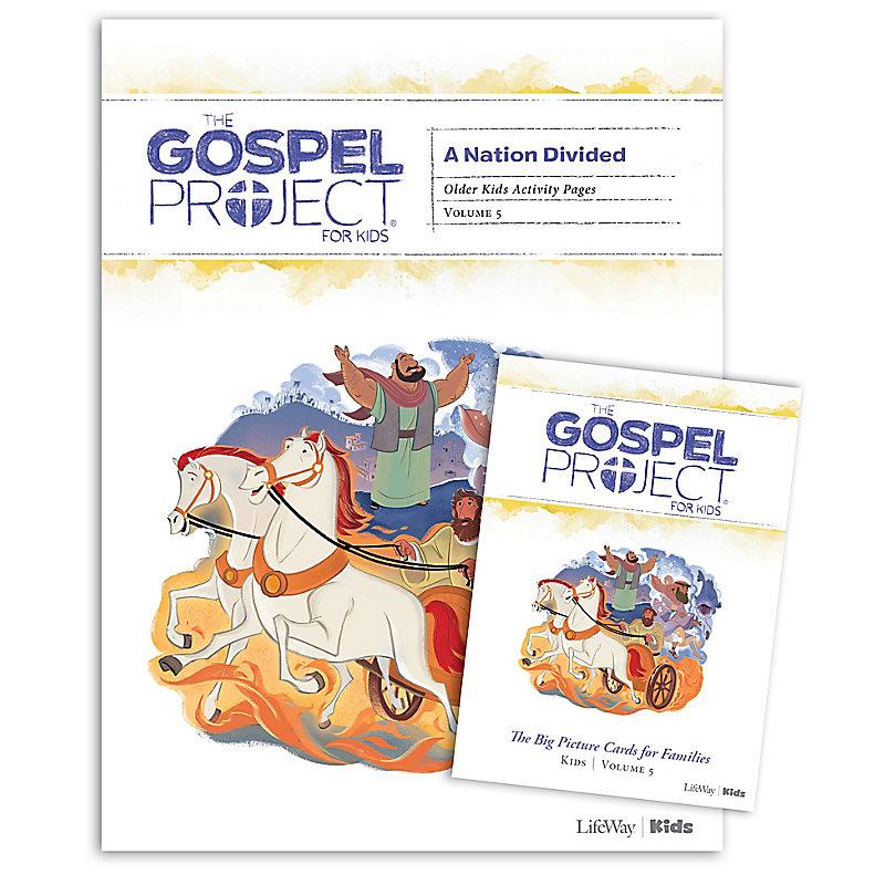The Gospel Project for Kids: Older Kids Activity Pack - Volume 5: A Nation Divided