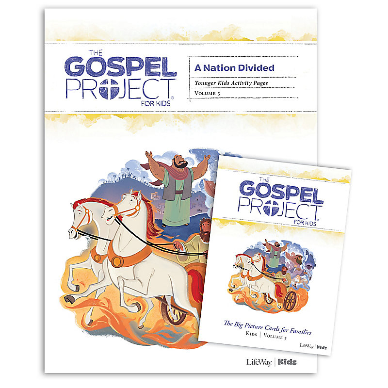 The Gospel Project for Kids: Younger Kids Activity Pack - Volume 5 A Nation Divided
