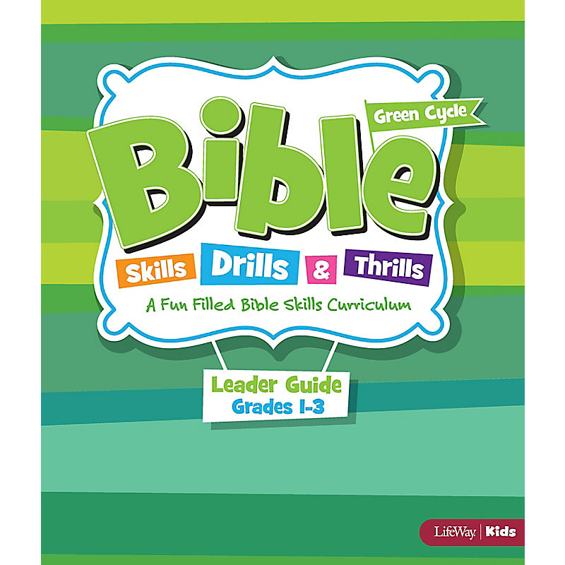 Bible Skills, Drills, & Thrills: Green Cycle (Grades 1-3) - Leader Kit