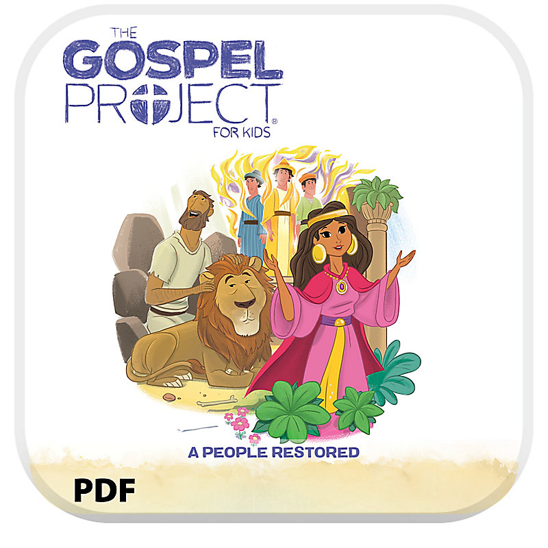 E-T Gospel Project for Kids: Younger Kids Leader Guide PDF - Volume 6: A People Restored