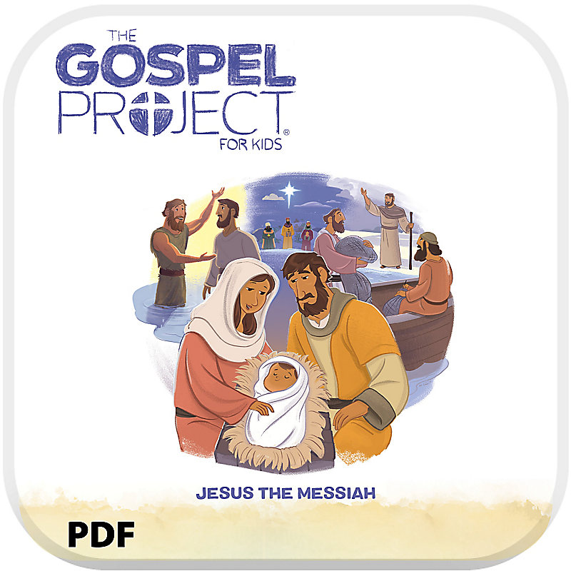 The Gospel Project for Kids: Younger Kids Leader Guide PDF - Volume 7: Jesus the Messiah