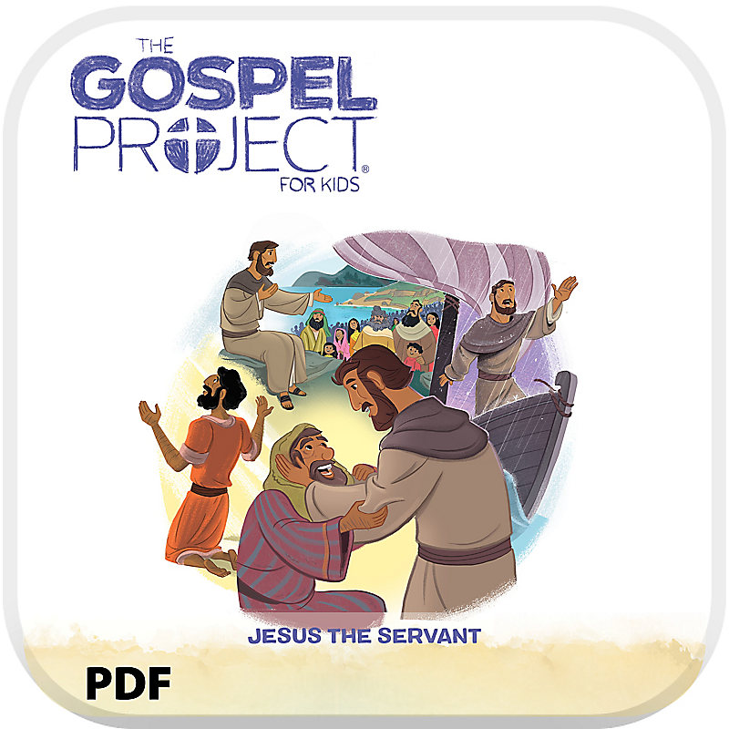 The Gospel Project for Kids: Younger Kids Leader Guide PDF - Volume 8: Jesus the Servant