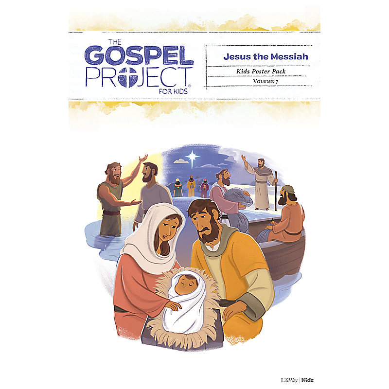 The Gospel Project for Kids: Kids Poster Pack - Volume 7: Jesus the Messiah