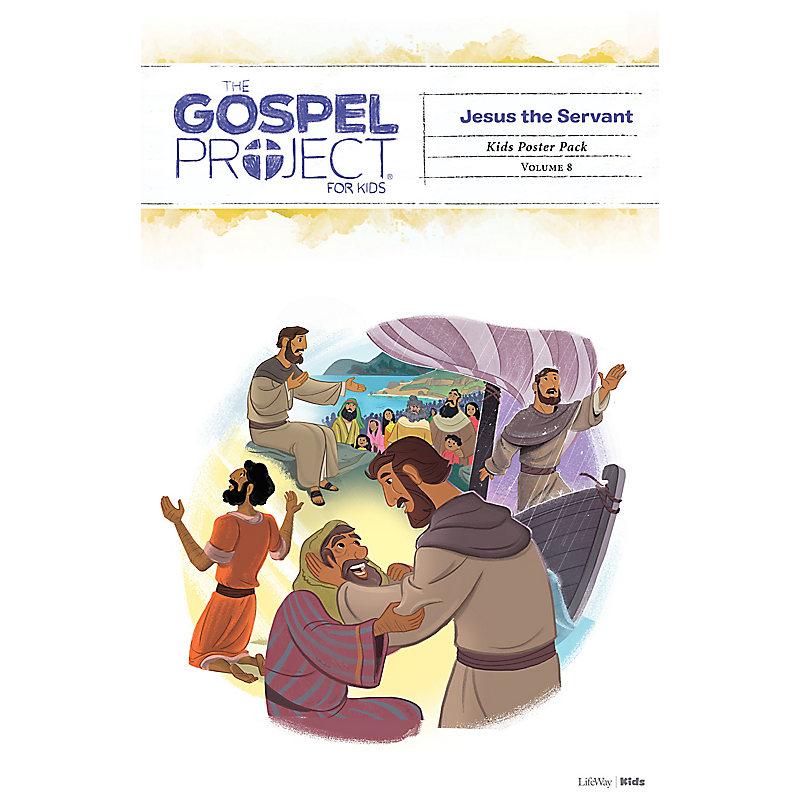 The Gospel Project for Kids: Kids Poster Pack - Volume 8: Jesus the Servant