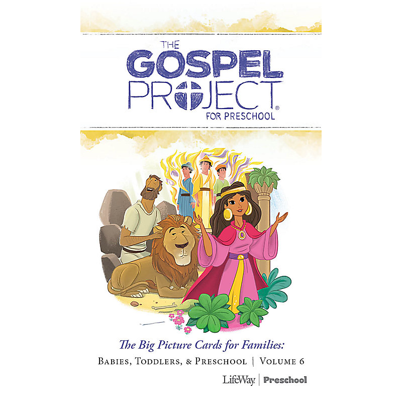 The Gospel Project for Preschool: Preschool Big Picture Cards for Families - Volume 6: A People Restored