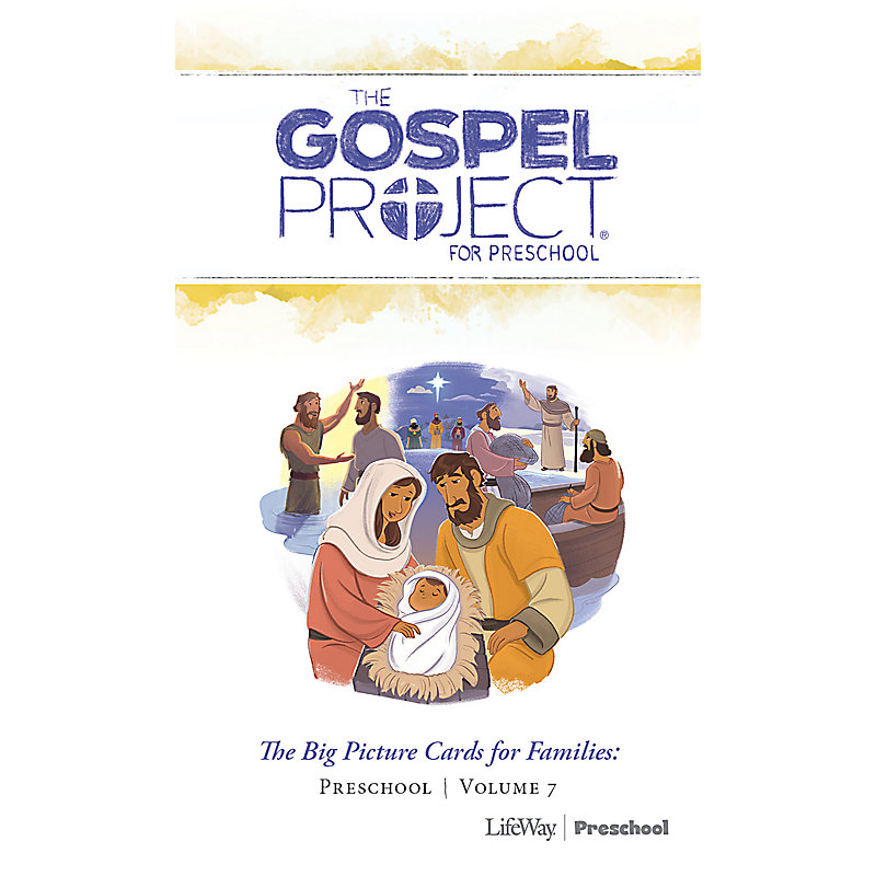 The Gospel Project for Preschool: Preschool Big Picture Cards for Families - Volume 7: Jesus the Messiah