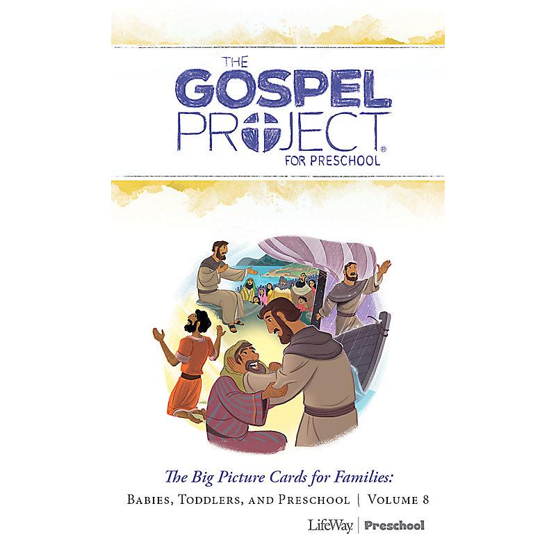 The Gospel Project for Preschool: Preschool Big Picture Cards for Families - Volume 8: Jesus the Servant