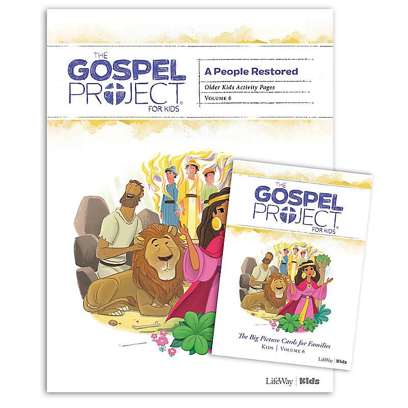 The Gospel Project for Kids: Older Kids Activity Pack - Volume 6: A People Restored