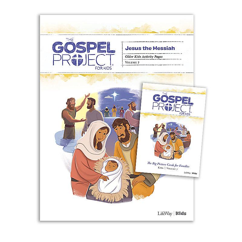 The Gospel Project for Kids: Older Kids Activity Pack - Volume 7: Jesus the Messiah