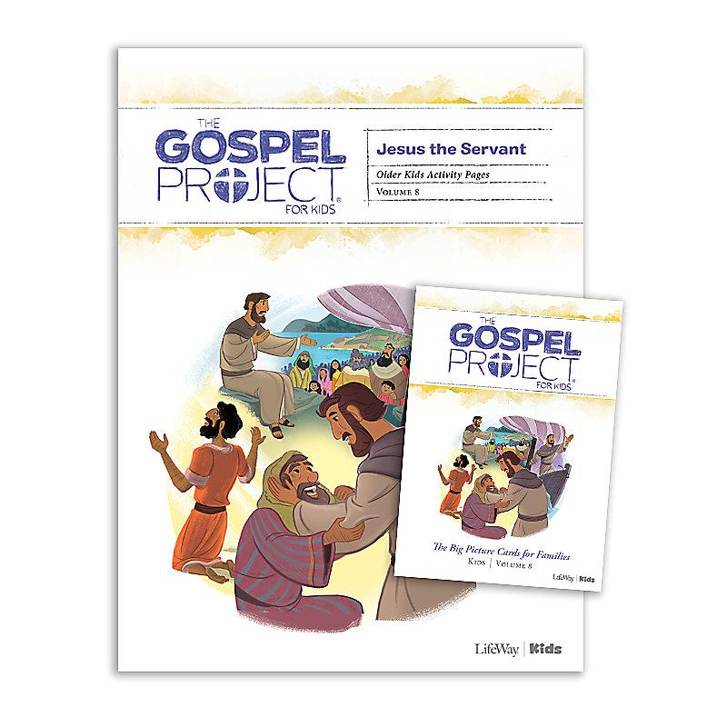 The Gospel Project for Kids: Older Kids Activity Pack - Volume 8: Jesus the Servant