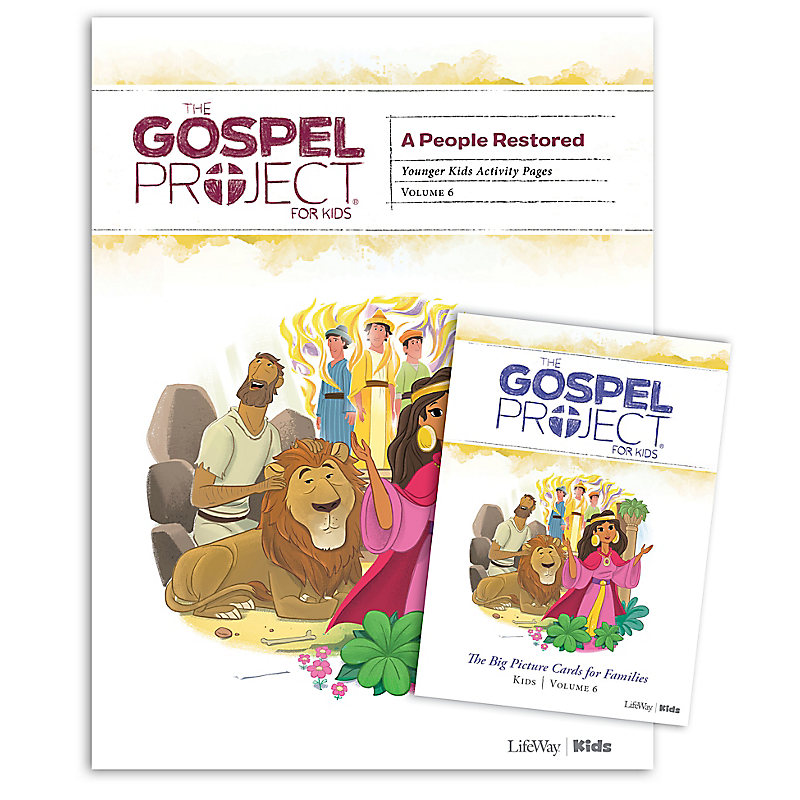 The Gospel Project for Kids: Younger Kids Activity Pack - Volume 6: A People Restored