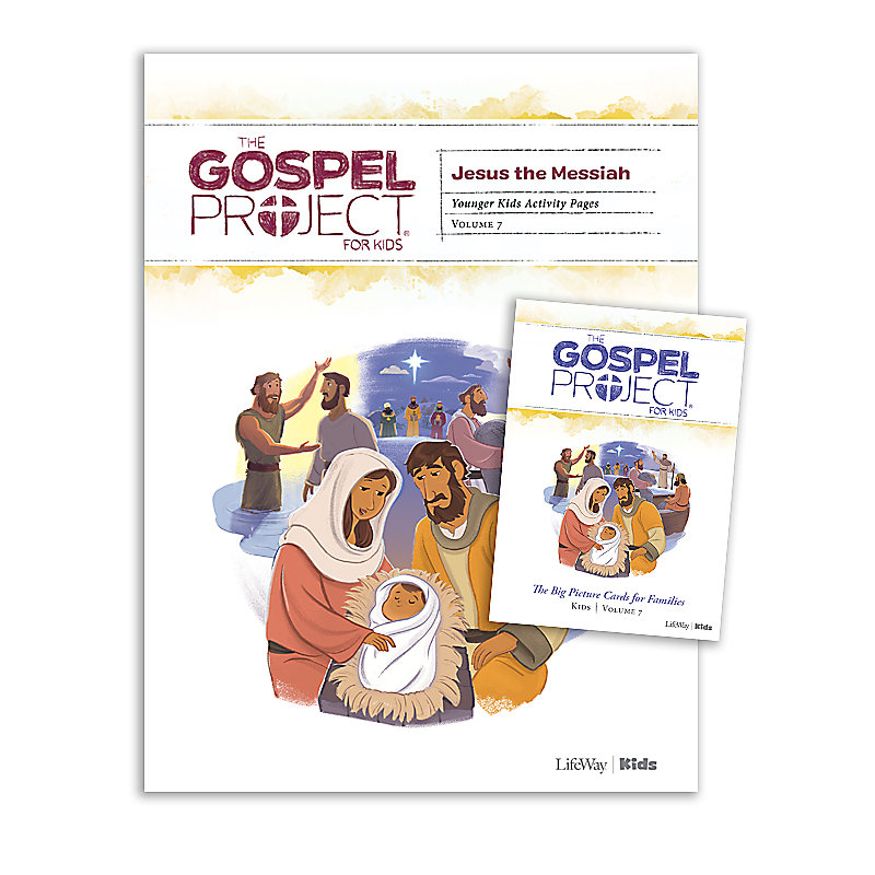 The Gospel Project for Kids: Younger Kids Activity Pack - Volume 7: Jesus the Messiah