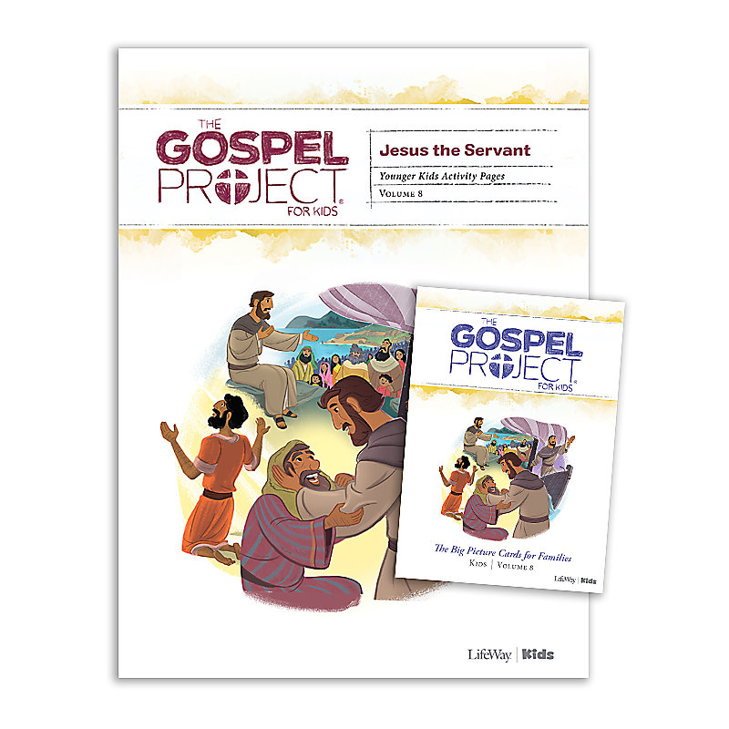 The Gospel Project for Kids: Younger Kids Activity Pack - Volume 8: Jesus the Servant